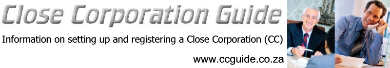 CC Registration and Close Corporation Information